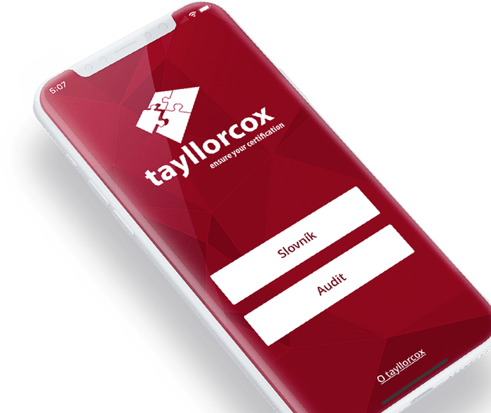 Tayllorcox mobile application